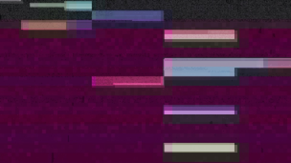 A randomised glitchy texture