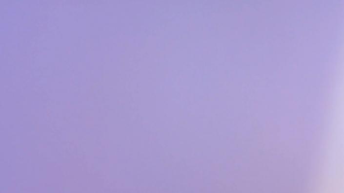 a purple light leak
