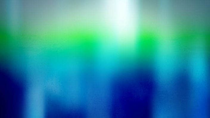 A blue green animated background