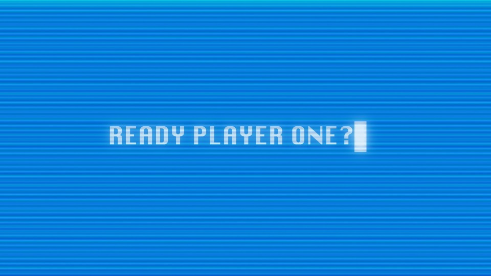Games console prompt for Player one to be ready