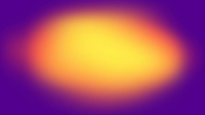 A coloured gradient