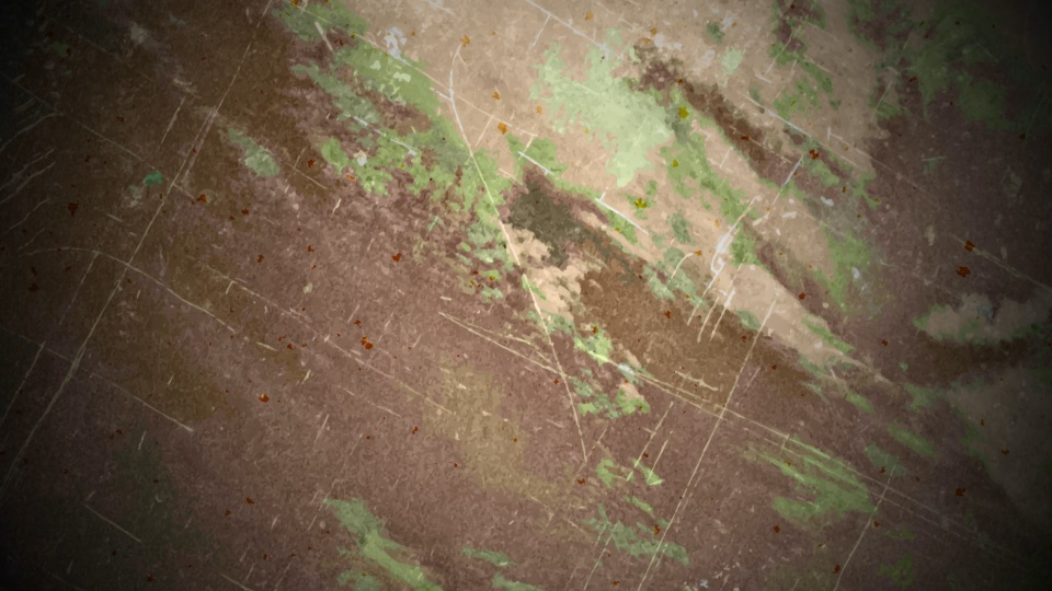 A brown-green grunge effect