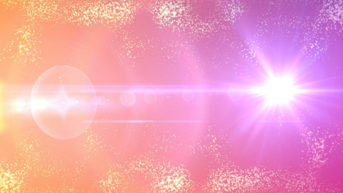 A pink particle background