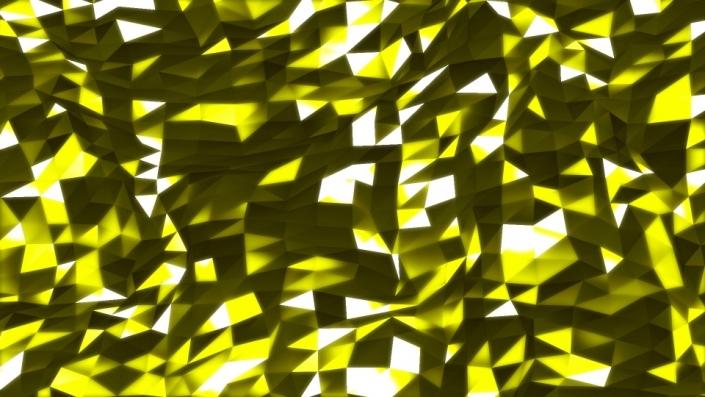 Yellow geometric shapes