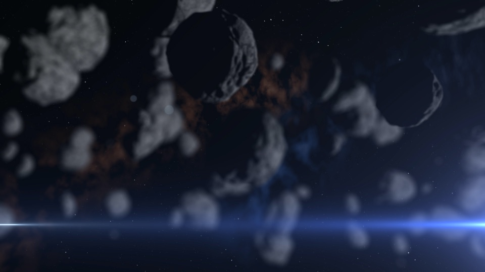 The Asteroid Belt 02