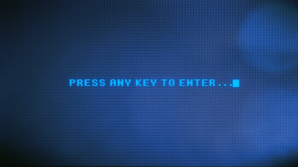 Computer prompting to press any key
