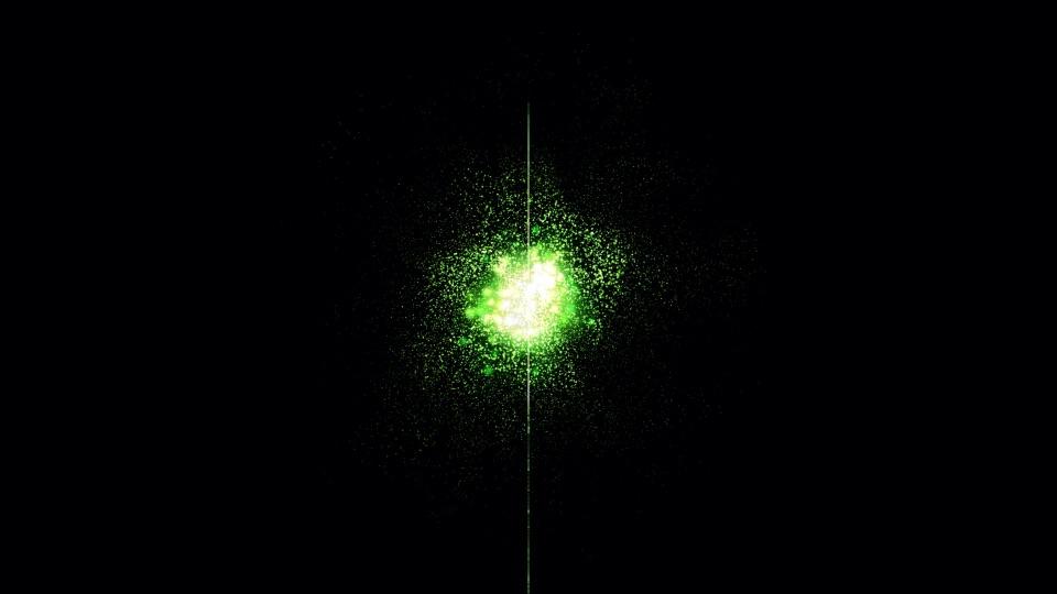 A cosmic quasar