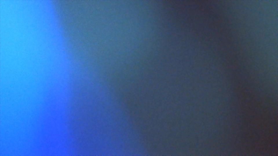 Blurred flashing coloured lights