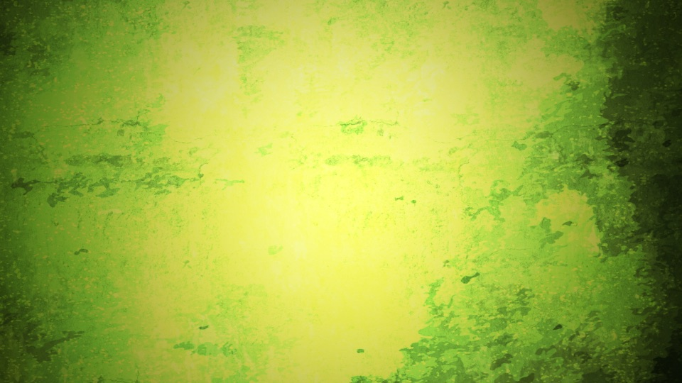 A green grunge effect