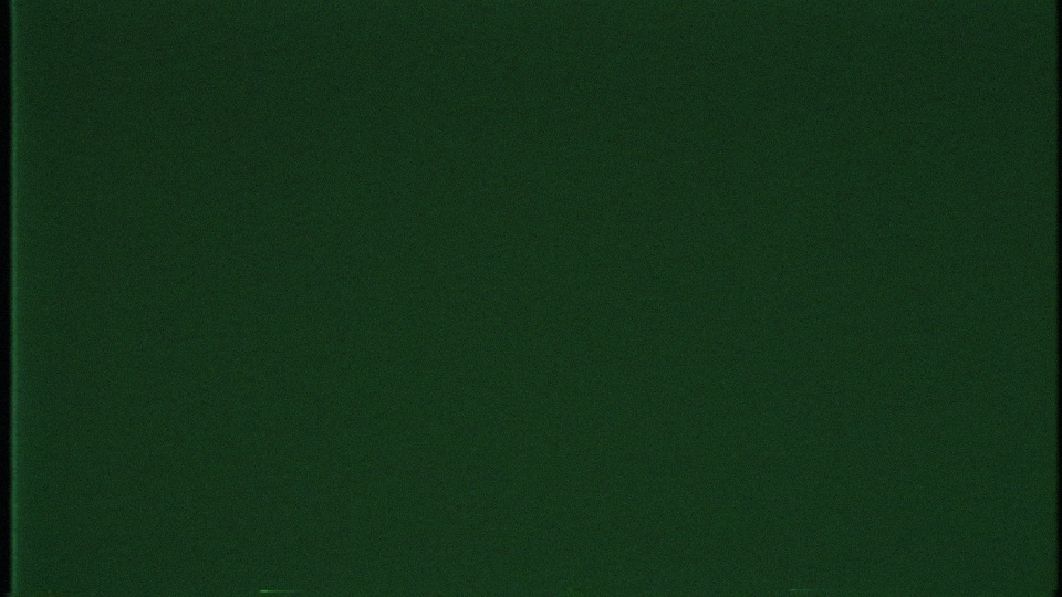 a paused frame from a VHS tape