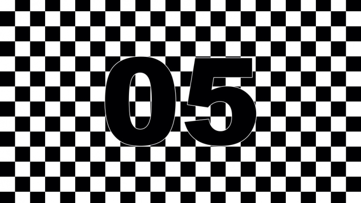 Checkerboard Countdown