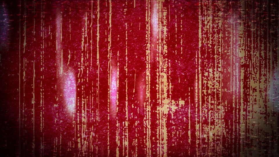 A red grunge effect with vertical lines