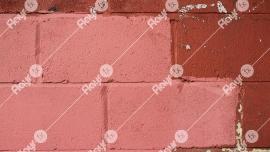 a pink brick pattern
